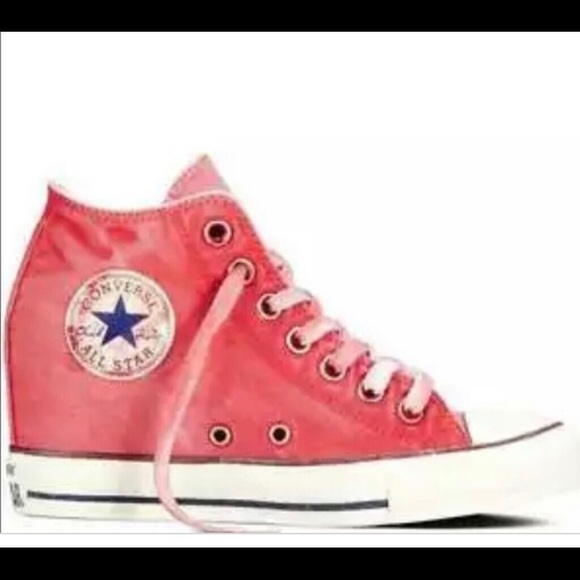 408bf13bbeb ... buy distressed red converse wedges 83c20 bcadc ...